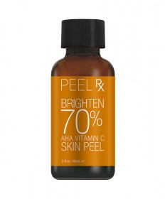 Peel RX Brighten 70% AHA Vitamin C Skin Peel Kit